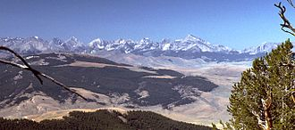 Salmon-Challis National Forest - Lost River Range in Salmon-Challis National Forest