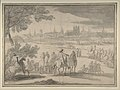 Louis XIV at the Siege of Tournai, Seen from the North-East (June 21-25, 1667) MET DP802230.jpg