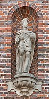 Louis the Pious from the Old City-Hall, Hamburg.jpg
