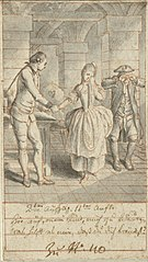 Louise and her Father Johann Ludwig Visiting Alexis in Prison