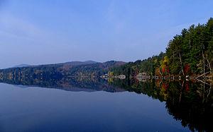 Lower Saranac Lake - Image: Lower Saranac Lake Shingle Bay