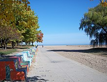 List of beaches in Chicago - Wikipedia Chicago Beaches Map on