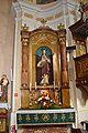 Lučenec - Rímskokatolícky kostol Navštívenia Panny Márie (interiér) 3.jpg