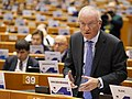 Luc van den Brande at the 137th Plenary Session of the European Committee of the Regions (49177331693).jpg