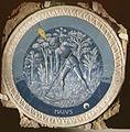 Luca della robbia, mesi per lo studietto di piero de' medici, 1450-56, maggio.JPG
