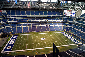 Lucas Oil Stadium - Interior of Lucas Oil Stadium