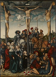 <i>The Crucifixion</i> (Cranach) painting by Lucas Cranach the Elder in the Indianapolis Museum of Art