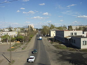 Luga, Leningrad Oblast - Luga in 2003