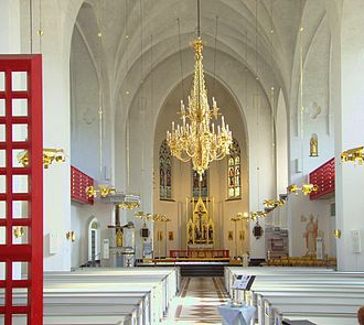 Luleå Cathedral - Interior of the Cathedral