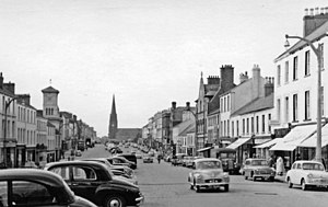 Lurgan - Lurgan's main street in 1960