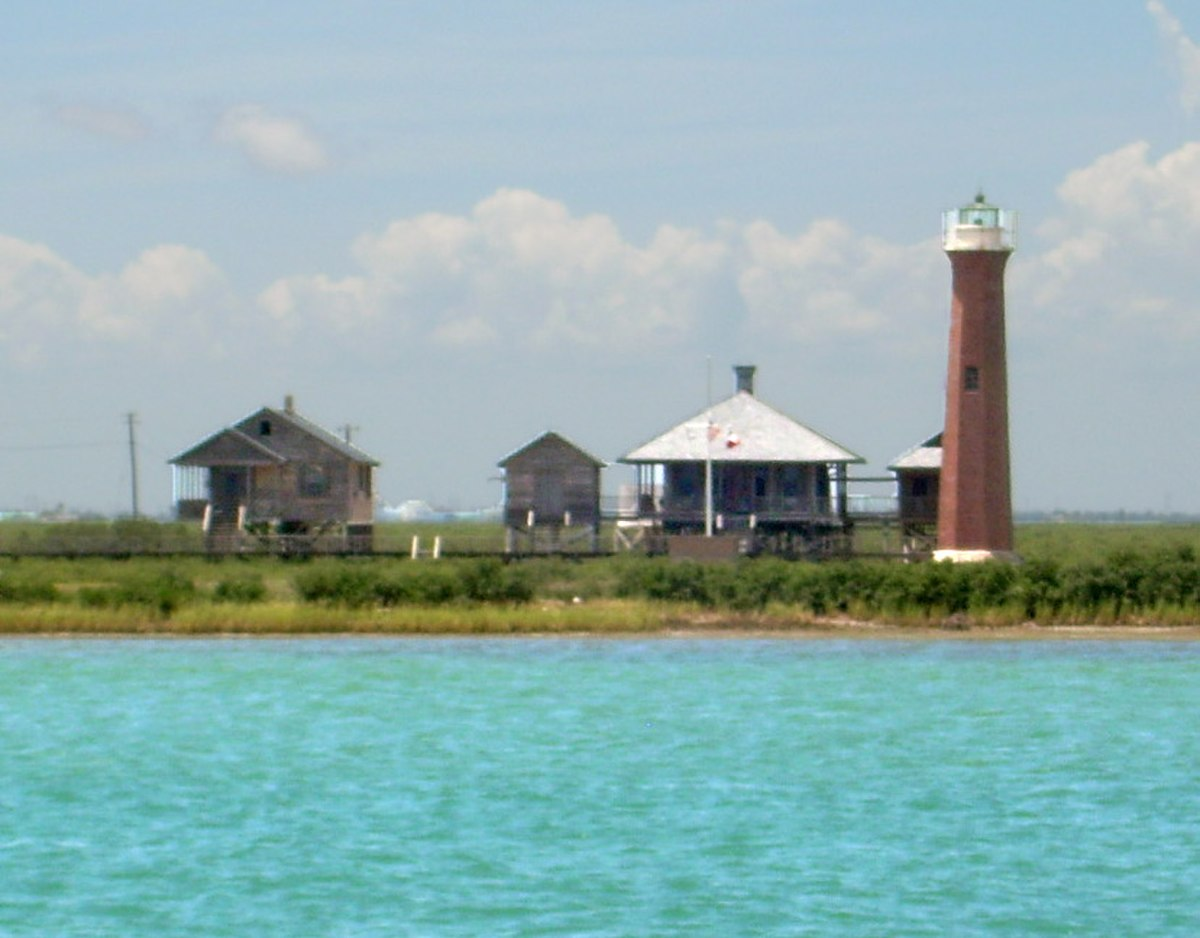 Aransas pass light station wikipedia for Port a texas