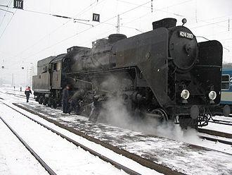 4-8-0 - MÁV Class 424
