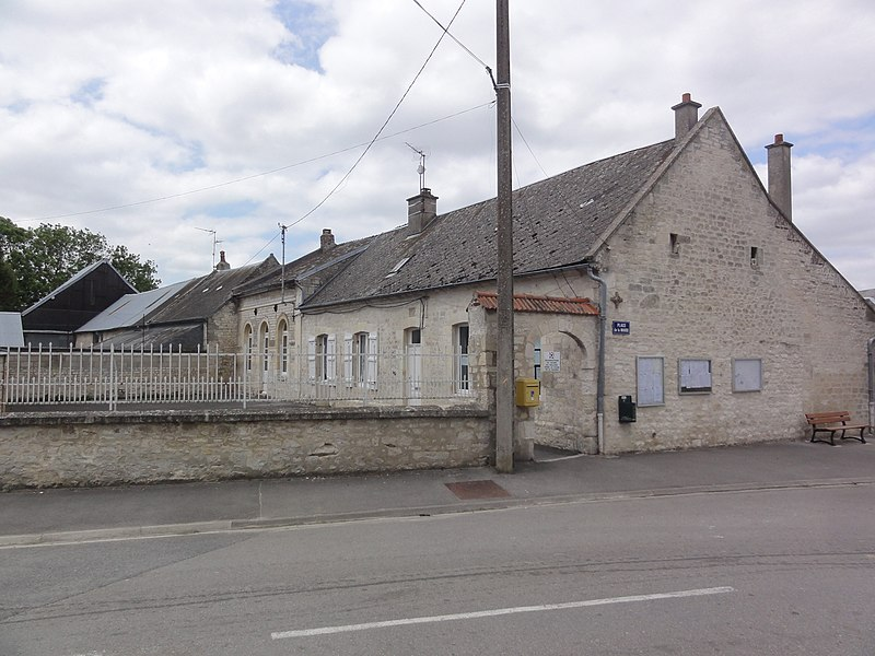 Mâchecourt (Aisne) mairie