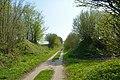 Mühlenbarbek, Reste der Bahnstrecke Wrist–Itzehoe NIK 5053.JPG