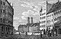 München Schrannenplatz Schaden 1837.jpg