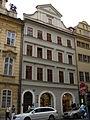 Měšťanský dům U bílé růže (Malá Strana), Praha 1, Mostecká 17, Malá Strana.JPG