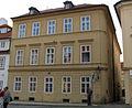 Měšťanský dům U zlatého hroznu, U obrazu (Malá Strana), Praha 1, Na Kampě 2, Malá Strana.JPG