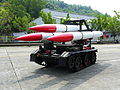 M-501 Missile loading tractor Display in ORCD 20121013b.jpg