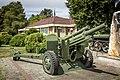 M101 howitzer in Valpovo, Croatia.jpg