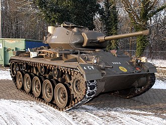 M24 Chaffee - A preserved M24 of the Royal Netherlands Army