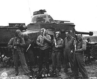13th Cavalry Regiment - M3 Lee tank of D Company, 2nd Battalion, 13th Armored Regiment at Souk el Arba, Tunisia, 23 Nov 1942.