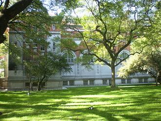 Bernardino Rivadavia Natural Sciences Argentine Museum - Exterior of the National Natural Sciences Institute, facing Parque Centenario