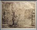 Maarten van hemskerk, sacrificio di elia, 1565, gessetto, inchiostro bruno e nero.jpg