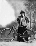 Mabel Love with a bicycle.jpg