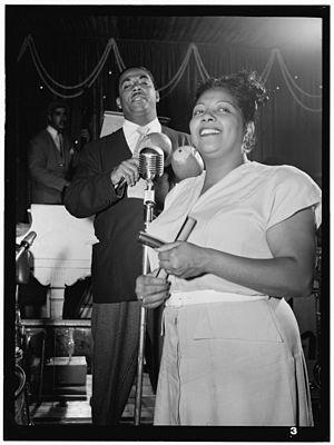 Machito - Machito and Graciela in 1947