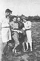 Maciej Aleksy Dawidowski, Barbara Sapińska, 1942.jpg