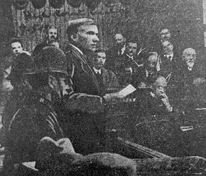 John Maclean (Scottish socialist) - Maclean delivering his famous 'Speech from the Dock'.