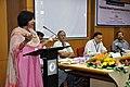 Madhuvanti Ghosh Addressing - Opening Session - VMPME Workshop - Science City - Kolkata 2015-07-15 8497.JPG