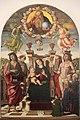 Madonna col Bambino in trono e santi di Giovanni Santi.JPG
