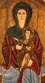 Maestro di sivignano, madonna in trono col bambino, da s. pietro a sivignano di capitino (AQ), 1250-1300 ca. 02.jpg