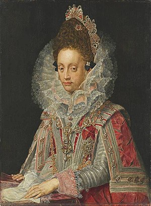 Peter Candid - Portrait of Duchess Magdalena of Bavaria