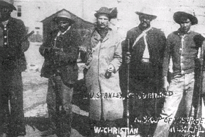 Capture of Mexicali - Image: Magonistas en Mexicali 1911