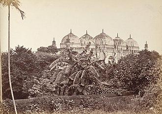 Khan Mohammad Mridha Mosque - Mahomed Mosque at Dhaka (1885).