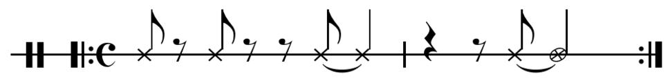 Maiden Voyage rhythmic ostinato