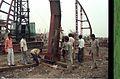 Main Auditorium Under Construction - Convention Centre Complex - Science City - Calcutta 1994-11-03 471.JPG