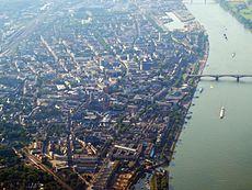 Mainz - Luftaufnahme