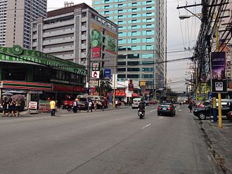 Makati Avenue - Makati's Poblacion at Makati and Kalayaan Avenues