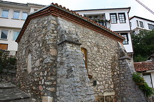 Andrea Gropa - Lesser Saint Clement Church - Gropa is mentioned in its ktetor inscription.