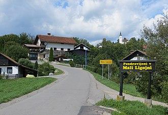 Mala Ligojna - Image: Mala Ligojna Slovenia