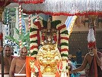 Malayappa in simha vahanam