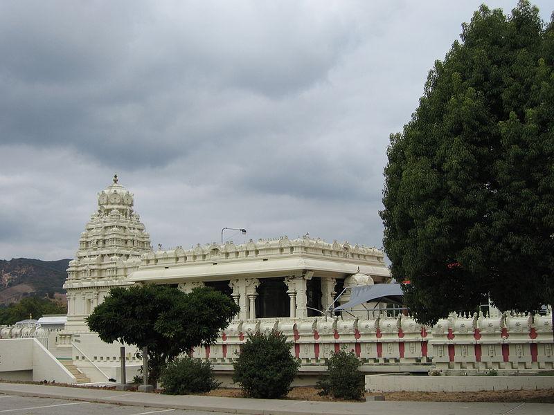 Sri Venkateswara, Malibu Hindu Temple 800px-Malibu_Hindu_Temple_16