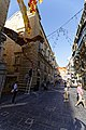 Malta - Valletta - Republic Street - View along National Museum of Archaeology.jpg