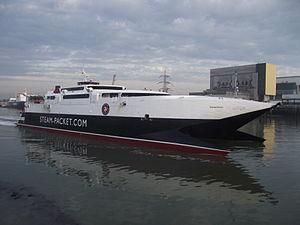 Heysham Port - Image: Manannan Heysham