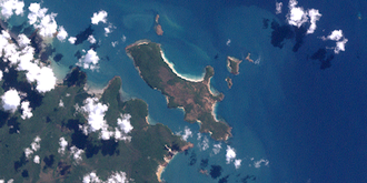 Albany Island - Albany Island (Pictured in center)