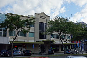 Manawatu Standard - The office of the Manawatu Standard in Palmerston North