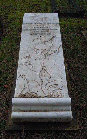 Mancherjee Bhownagree - Grave of Mancherjee Bhownagree in Brookwood Cemetery